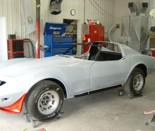 Réparation et restauration de Corvette [ GARAGE GILLES ...